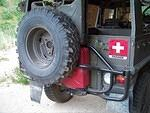 Rear Spare/Jerry Can Rack